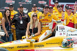 Ryan Hunter-Reay leads Chevrolet charge to Edmonton