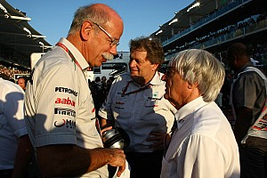 Mercedes, FIA, yet to agree new Concorde
