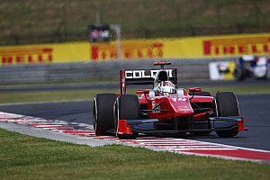 Amazing recovery to top ten for Coletti in Budapest Feature Race