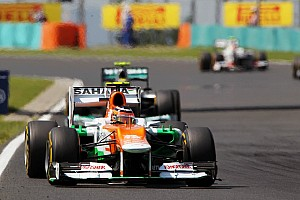 Force India teammates just missed out on points in Hungarian GP