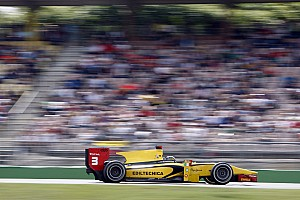 DAMS team makes up ground in Budapest at Hungaroring
