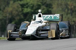 Ed Carpenter improves speed in Mid-Ohio qualifying