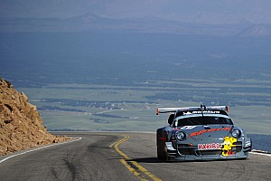 Romain Dumas concludes positive practice at Pikes Peak