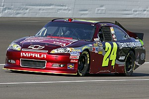 No lucky charm needed for Jeff Gordon in return to Michigan