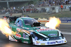 John Force Funny Car runner-up at Brainerd