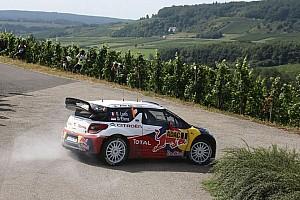Loeb and Elena take the early lead in Rallye Deutschland - Video