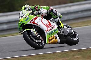 Toni Elias misses the top ten in Brno qualifying