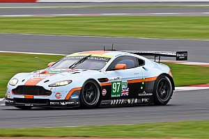 Aston Martin Vantage GTE achieves podium at home event