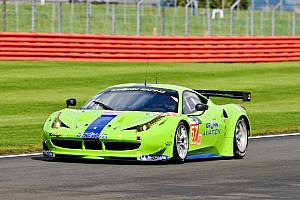 Krohn's Ferrari started and finished in the same position at Silverstone