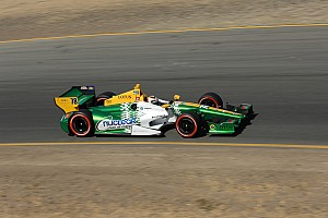 De Silvestro gains 10 positions to finish 17th at Sonoma