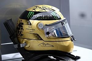 Michaels Schumachers 300th GP Helmet Design