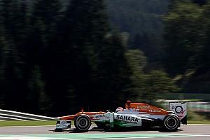Di Resta qualified in tenth place for Belgian Grand Prix
