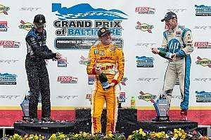 Hunter-Reay slick winner of the Grand Prix of Baltimore