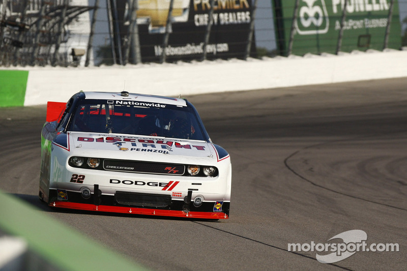 Ryan Blaney pulls a top-10 for Dodge at Richmond