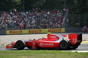 Arden's Razia does not score points at Monza
