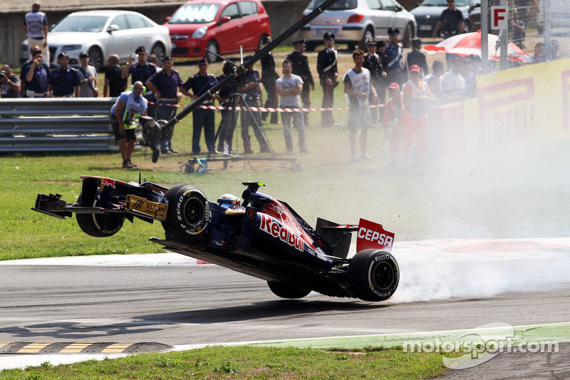 Vergne 'fine' after pain of Monza flier