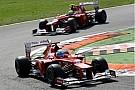 Massa succumbs to team orders, Button still fighting