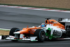 Sahara Force India completed its final day of Young Driver testing at Magny-Cours