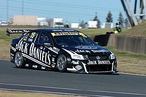 Jack Daniel's Racing battle damp track at Sandown practice