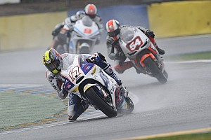 Cardion AB's Abraham on top in San Marino GP wet Friday practice