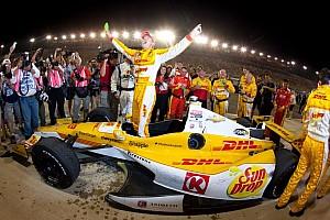 Hunter-Reay earns championship; Carpenter wins race at Fontana