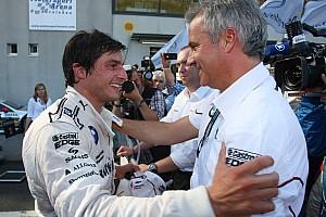 BMW's Spengler wins from pole in Oschersleben