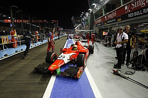 Razia lines up ninth ahead of GP2 finale in Singapore