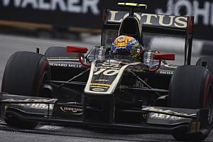 Lotus GP just misses the 2012 team title in Singapore