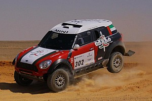 The fight back falters  as Al-Mutaiwei extends Pharaons Rally lead on stage 3