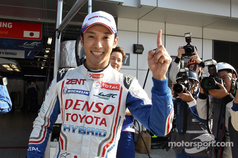 Nakajima hands Toyota pole for the Six Hours of Fuji