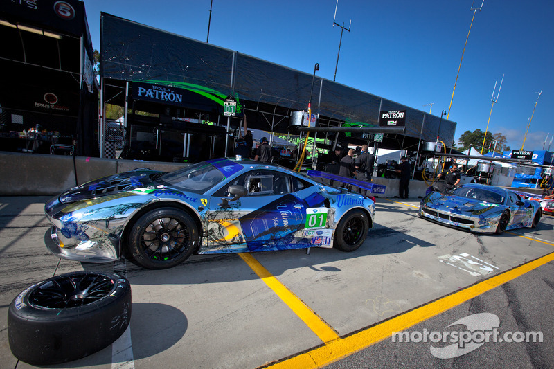 ESM supports Action Against Hunger with special livery at Petit LeMans