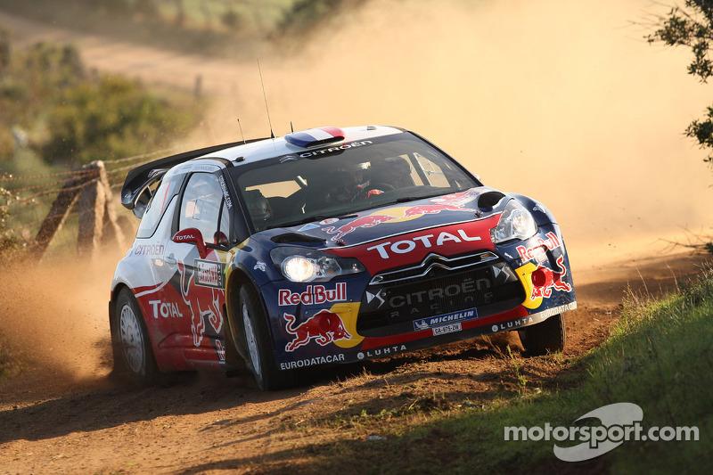 Nine time champions Loeb and Elena crash out of Rally Italia Sardegna