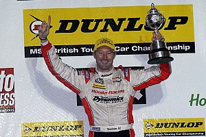 Shedden takes crown at wet Brands Hatch