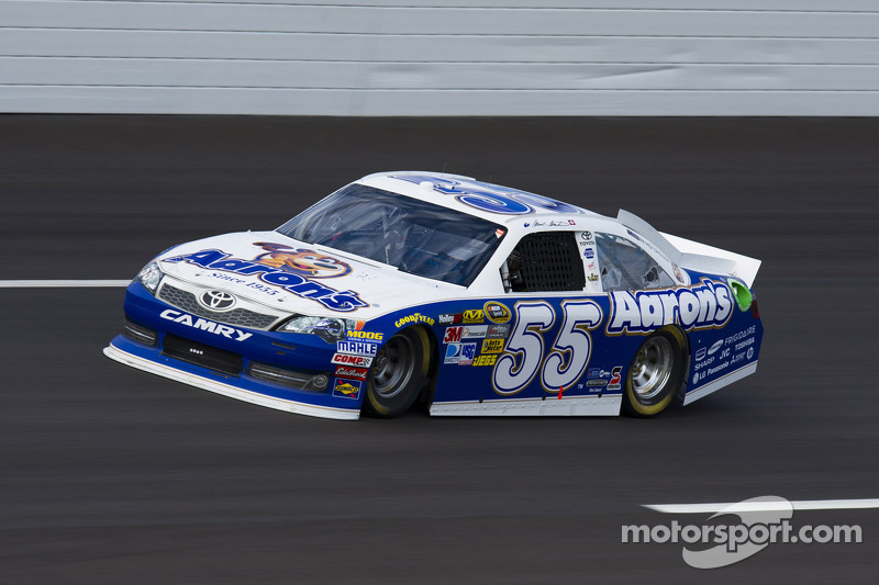 Martin, Vickers and Waltrip to share MWR No. 55 driving duties in 2013