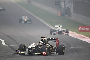 Lotus stuck in the middle on Indian GP