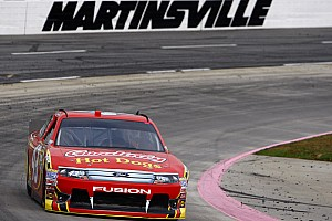 Almirola top Ford finisher at Martinsville with a fourth place