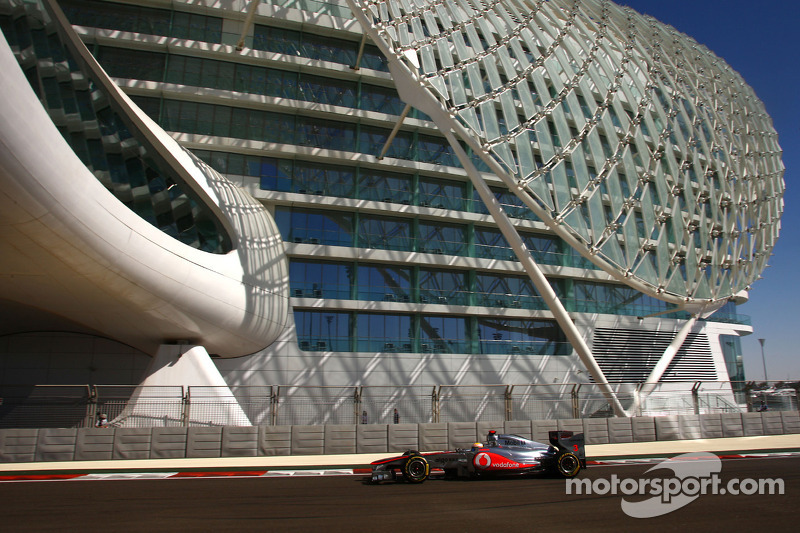Mclaren's records in Abu Dhabi are very favorable