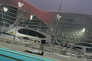 A 'normal' Friday for Mercedes in Abu Dhabi