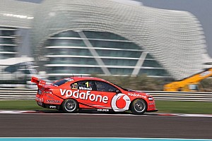 Whincup extends points lead with second Abu Dhabi win