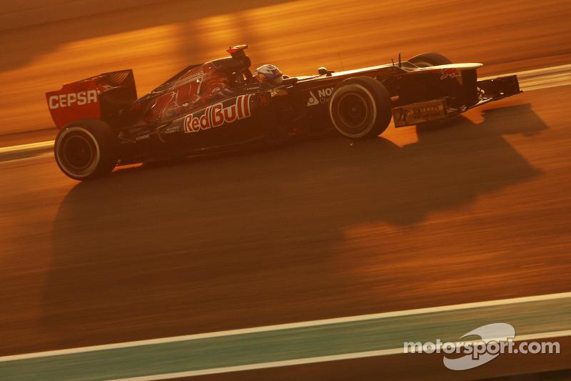 Qualifying was unfortunate for Toro Rosso on Abu Dhabi GP