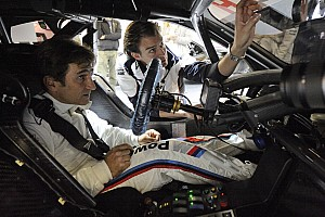 Zanardi completes historic drive in golden BMW M3 DTM