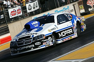 Johnson is No. 2 in Friday Pro Stock qualifying at Pomona Finale