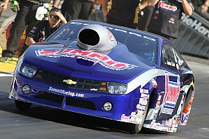 Line runs into third spot after two qualifying sessions for NHRA finals in Pomona