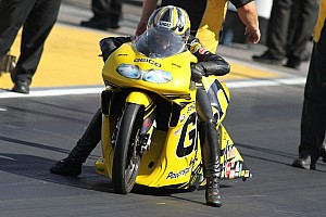 Stoffer signs off with quarterfinal finish in Pomona finale