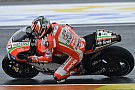 Ducati Team completes weather-affected test at Valencia