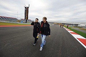 First speed test on new Austin circuit sees Vettel lay down fastest lap