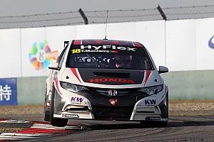 Tiago Monteiro 3rd and 5th in Macau qualifying