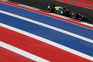 Caterham underperformed on US GP qualifying session
