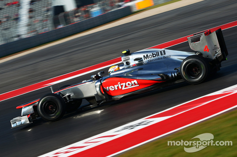 A brilliant day for McLaren at Circuit of The Americas