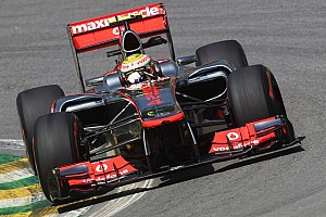 Hamilton sets the pace in Friday's practices at Brazilian GP